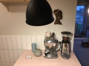 Et kaffehjørne til kaffenørden