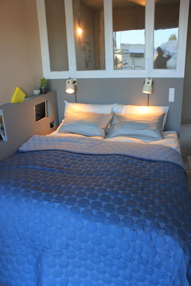 Gul Lejlighed - Færdigt soveværelse