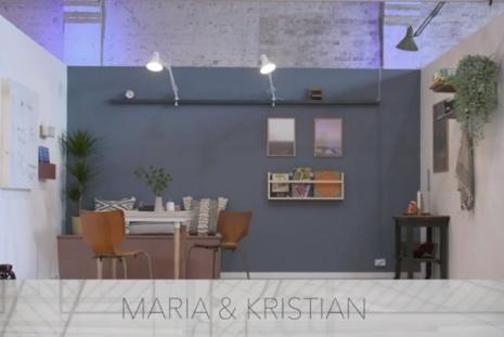 Hobbyrum - Maria og Kristian
