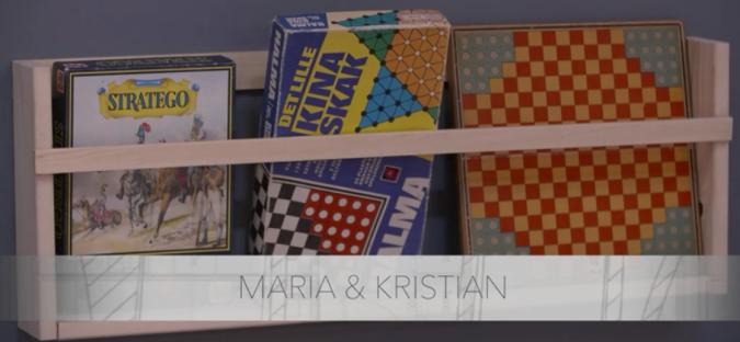 Magasin holder - Brætspil - DIY - Genbrug