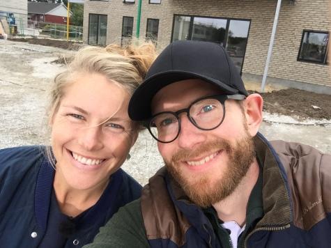 Selfie - Maria og Kristian - Nybyggerne