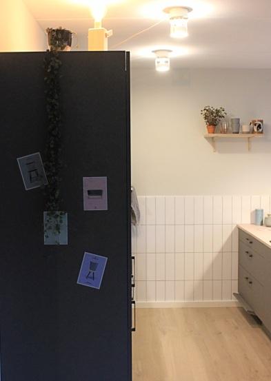 FDB postkort og køkken