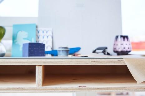 Ekstra værelse - Gul lejlighed - skrivebord