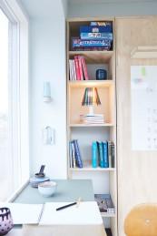 Ekstra værelse - Gul lejlighed - reol