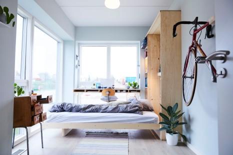 Ekstra værelse - Gul lejlighed Murphy's bed