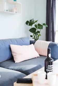 Muuto sofa - gul stue